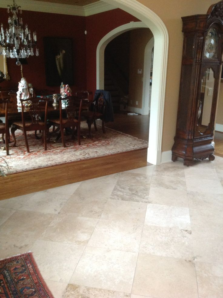 17 Best Images About Foyer Floors Travertine Or Black