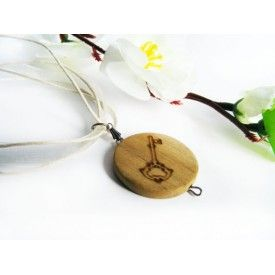 Key Engraved Necklace