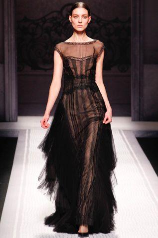 Albert Ferretti 2012 Herbst   – past & pres fashion.