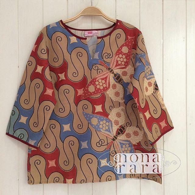 B090502 - IDR265.000 Bustline : 100cm Fabric: Batik Dobi Solo