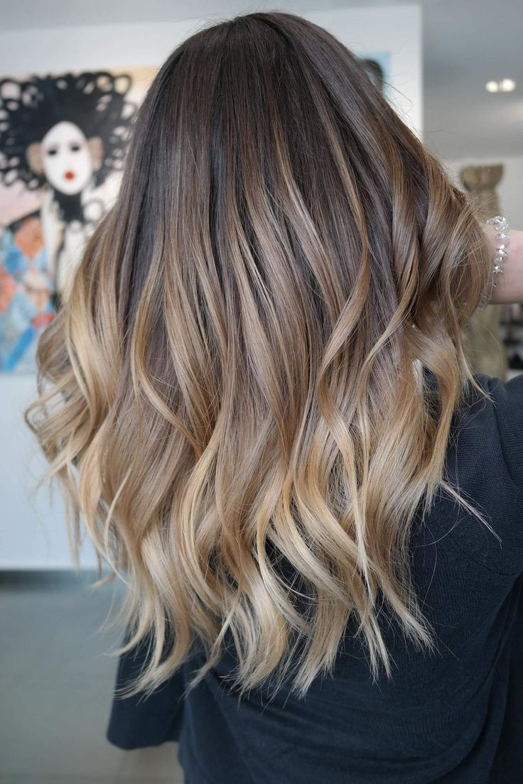 I Love The Transition From Dark To Light Cool Style I Love The Transition From Dark To Light Dark Light Love In 2020 Balayage Frisur Ideen Frisuren