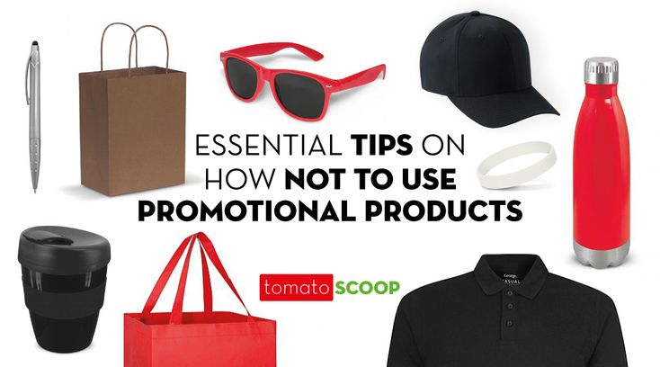 There are so many creative, clever ways that they can improve your marketing game. However, we have also seen promotional product campaigns go very wrong over the years. At Red Tomato, we care about your success and don't want you to make these same mistakes. Here are some essential tips on how not to use promotional products: