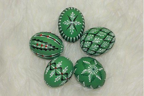 Kraslice zelené / Danica123 - SAShE.sk - Handmade Dekorácie