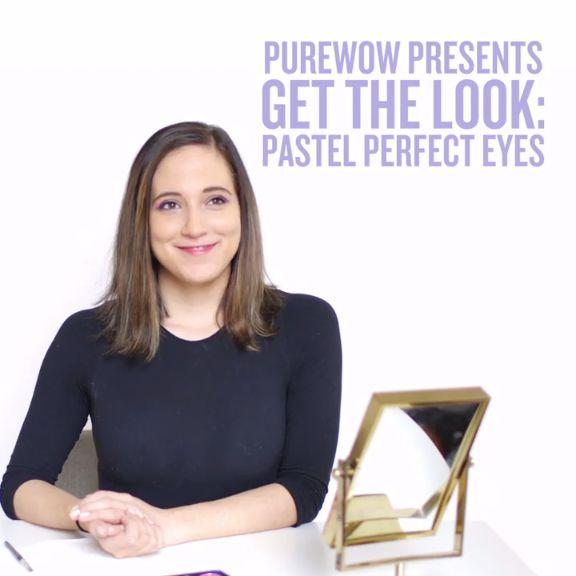 Kick-Start Spring with This Perfect Pastel Eye Makeup