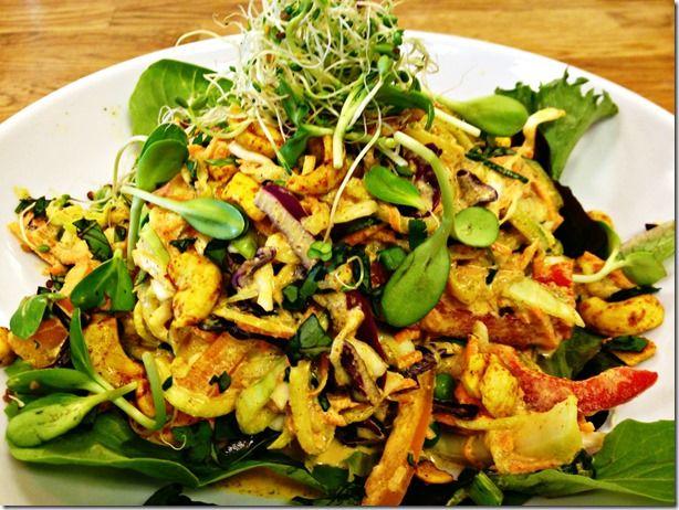 pad thai - Raw foods