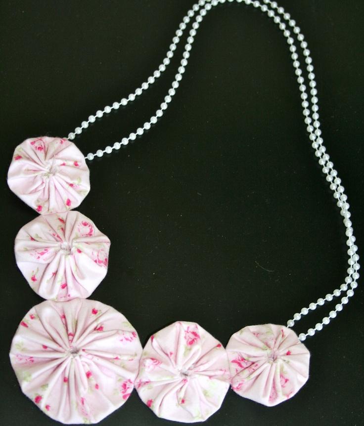 Yo-yo necklace