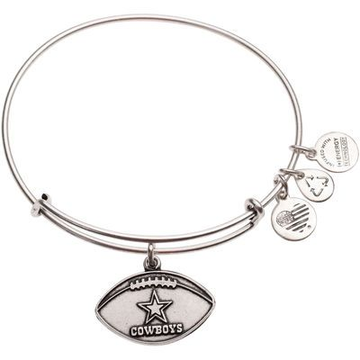 Alex and Ani Dallas Cowboys Women's Logo Silver Finish Bracelet