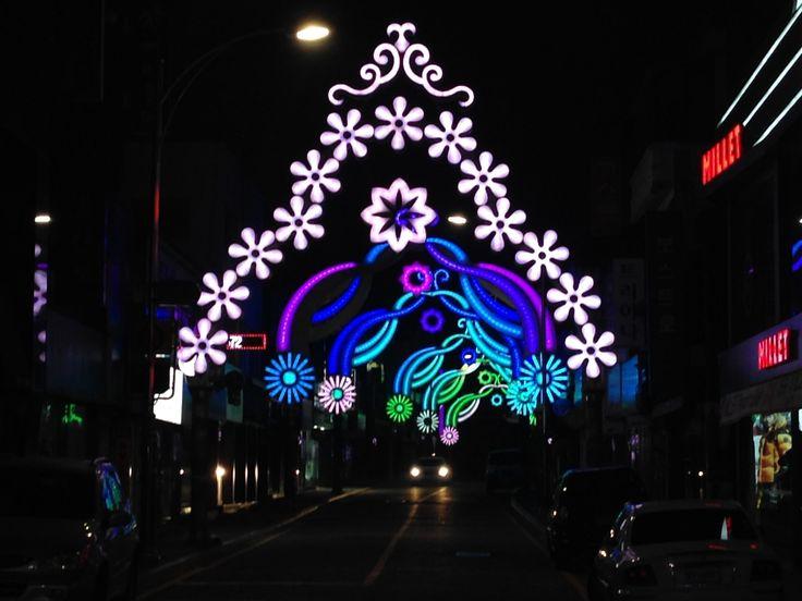 성탄의 불빛으로 비추는 남도의 아름다운 겨울밤, 목포 크리스마스트리문화축제