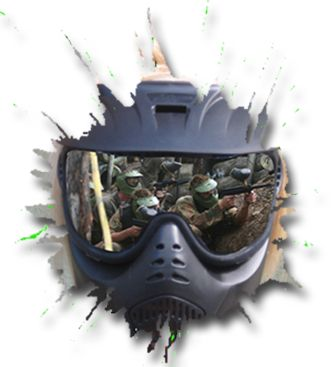 skirmish samford paintball brisbane paintball google mask abstract