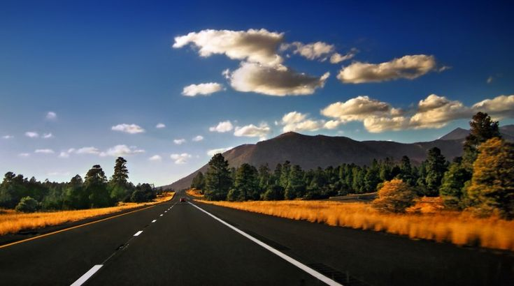 39 of the world's most inspiring routes for road trips [PICs]  34 I-40 West One of the classic routes traversing the entire US, I-40 road conditions can range from ugly traffic to wide open solitary moments such as this one in north-central Arizona, near Flagstaff. Photo: Nicholas T
