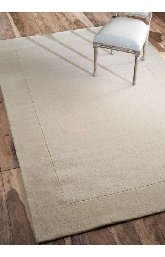 Rugs Usa Tuscan Woven Solid Border Cream Rug Rugs Usa