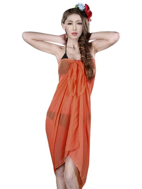 summer sarongs australia | Beach Sheer Bikini Coverup Chiffon Sarong Wrap Pareo ...
