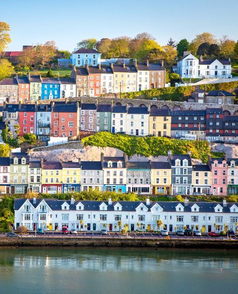 The popular tourist seaport town on the south coast of County Cork, Ireland.