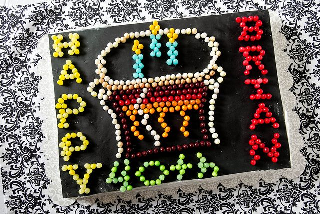 """Lite Brite Cake! This turned out more like a """"nailed it"""" meme (read: not pretty). Cool idea though."""