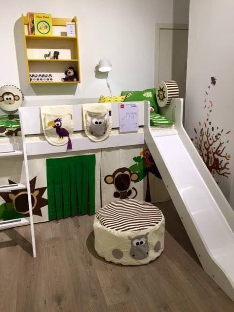 İskandinav tasarımı çocuk odası.Sadece çocuk odası mı? Tabiki hayır! Çocuklarınız büyüdüğünde kaydırak ve ayaklarını çıkartarak genç odası yaratabilirsiniz.