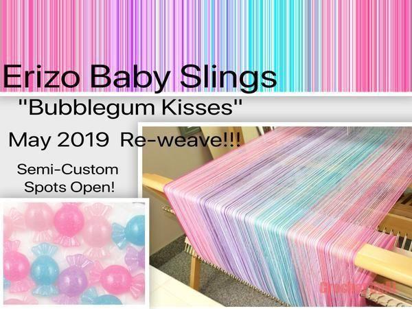 Bubblegum Kisses Pre-Sale Purchased a 3m wrap in bleu pale weft häkeln