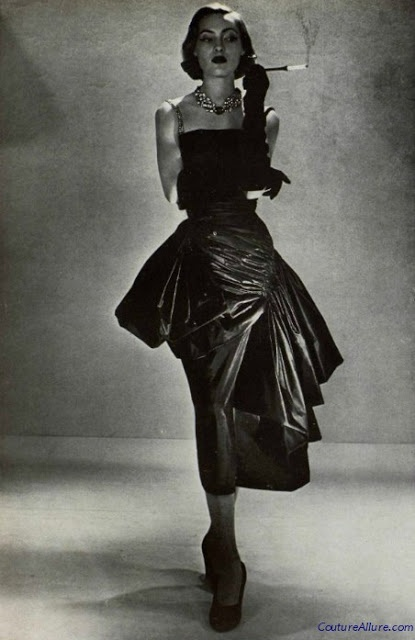 Couture Allure Vintage Fashion: Weekend Eye Candy - Germaine Lecomte, 1950