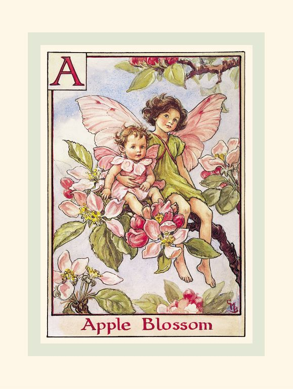 R. John Wright Presents: The Apple Blossom Fairies from 'A Flower Fairy Alphabet' Collection - R. John Wright, Bennington, VT