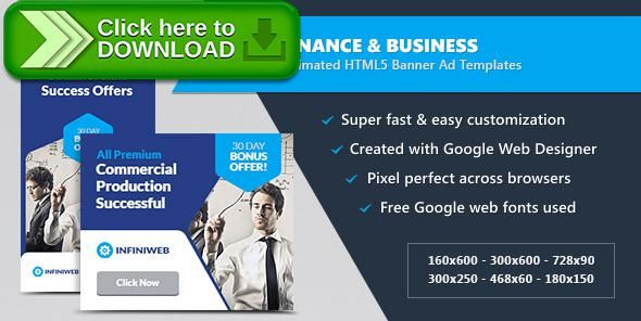 [ThemeForest]Free nulled download Finance & Business Banner Ads - HTML5 Animated GWD from http://zippyfile.download/f.php?id=43612 Tags: ecommerce, ads, advertising, adwords, animated, banner designs, banners, business, corporate, doubleclick, finance, google web designer, html5, technology, templates, web banners