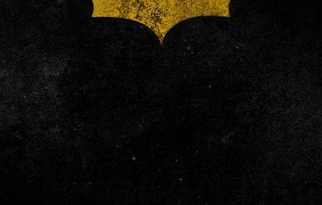 Batman iPhone Wallpaper Yellow Logo