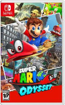 An 'us' gift. Super Mario odyssey for Nintendo switch.