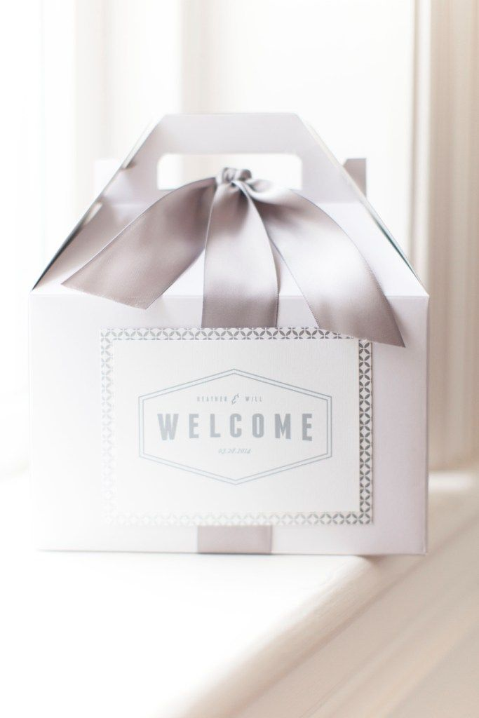 Welcome gift boxes   Add lovely gifts to welcome your guests to your party!   #CibiEvents #Welcome #Wedding
