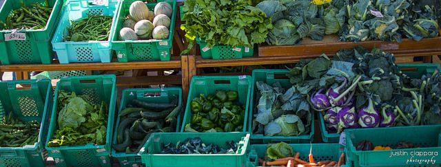 A vast variety of fresh vegetables at Ta' Qali, Farmers Market, Malta