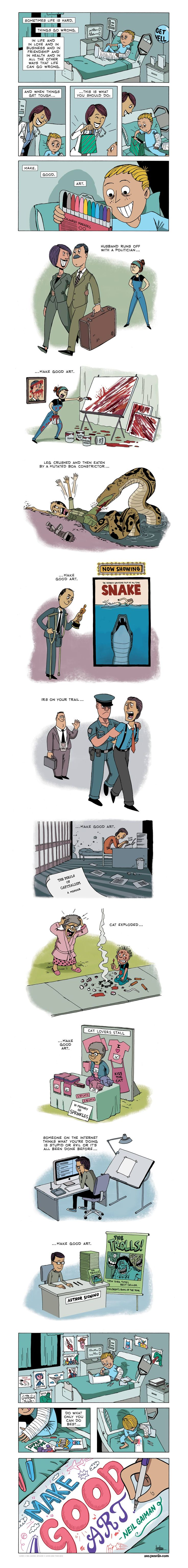 Fantastically Illustrated Inspirational Quotes from hands of ZenPencils