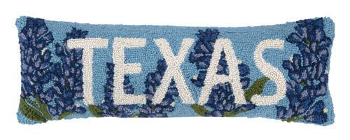 Texas Bluebonnet Pillow - Longhorn Fashions