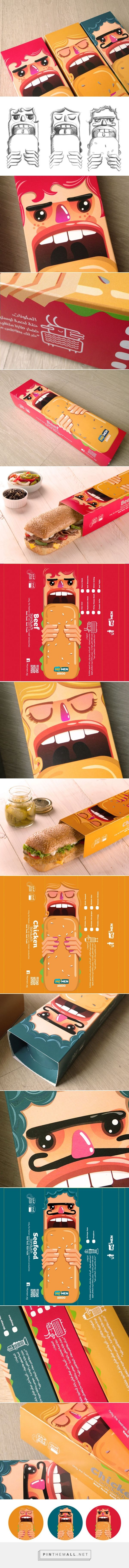 MOMEN ‪#‎Sandwich‬ ‪#‎packaging‬ designed by Mohamed Kamel - http://www.packagingoftheworld.com/2015/04/momen-sandwich.html