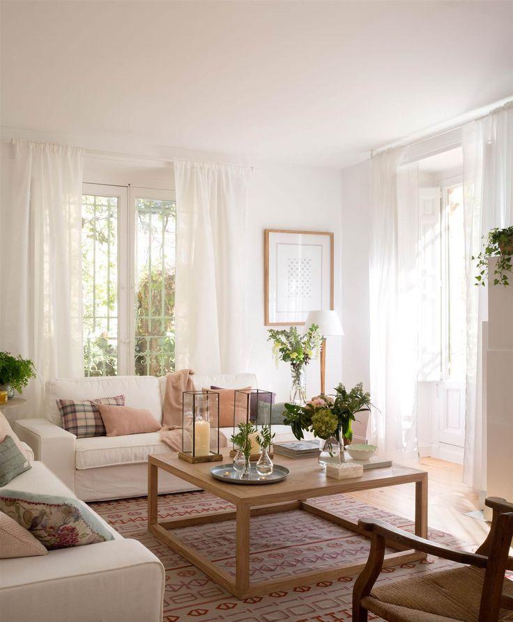 Las 25 mejores ideas sobre sof s blancos en pinterest for Cuales son los mejores sofas