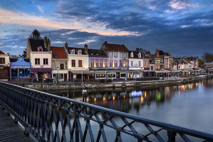 Quartier Saint-Leu Amiens France