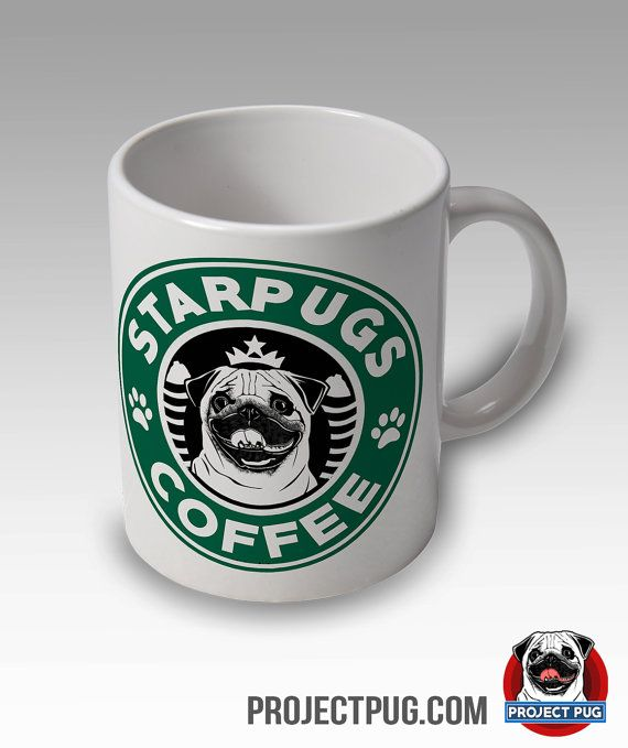 Pug Mug - Starpugs Coffee Mug