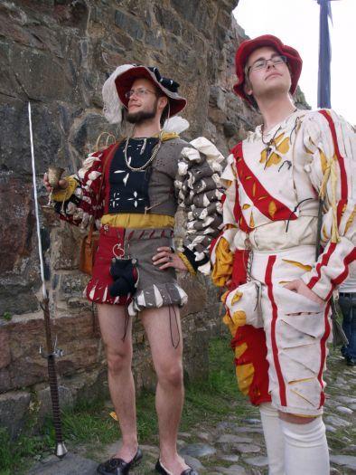 Two landsknechts