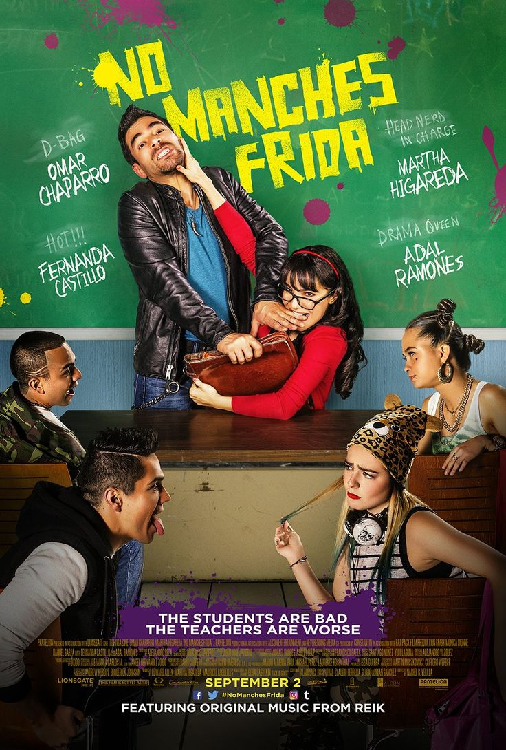 No manches Frida (2016) Film Poster