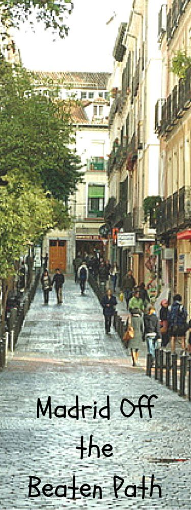 Without a doubt, many of Madrid's main attractions are absolutely worth battling the masses. But there is much more to see in Madrid. So come explore Madrid off the beaten path with this list of things to do in Madrid. http://madridfoodtour.com/madrid-off-the-beaten-path/