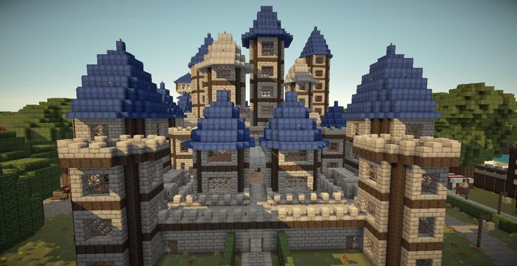 minecraft castles | Minecraft castle buildings, minecraft castle creations, minecraft ...