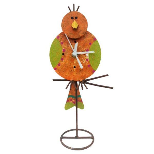 Oxidos Canairo Table Clock - Orange
