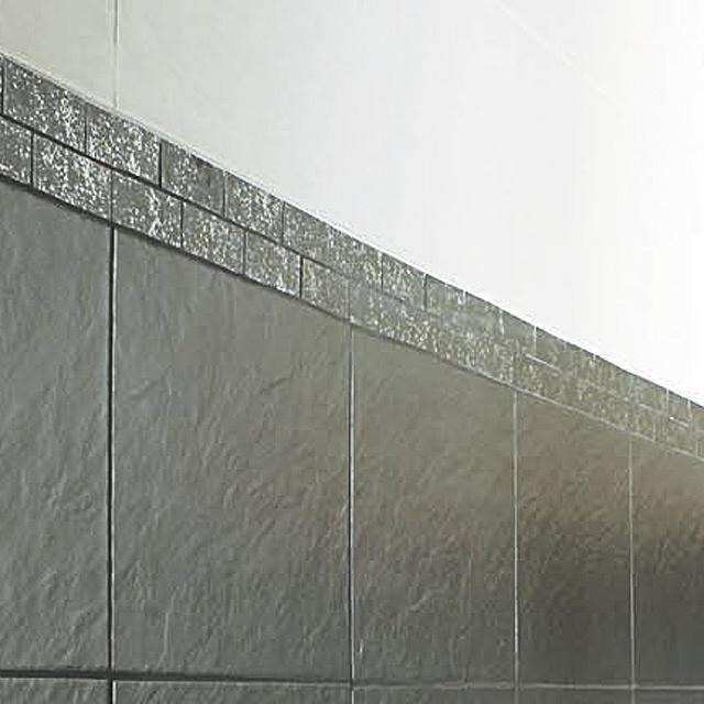 Carrelage sdb archi salle de bain pinterest un for Carrelage salle de bains tendance