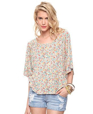 flower top from forever 21. $17.80