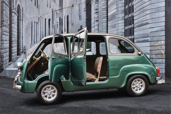 1959 Fiat 600 Multipla Hot Rod Restomod Upgraded Van For Sale
