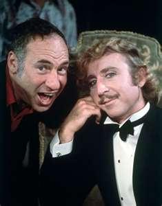 Mel Brooks & Gene Wilder = Genius!! Young Frankenstein - one of my favourite films.
