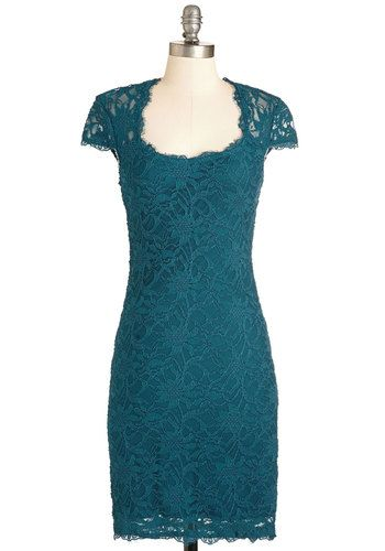 How Does Sheath Do It? Dress. Showcase your stylish sophistication in this snug, teal-green sheath dress! #green #modcloth