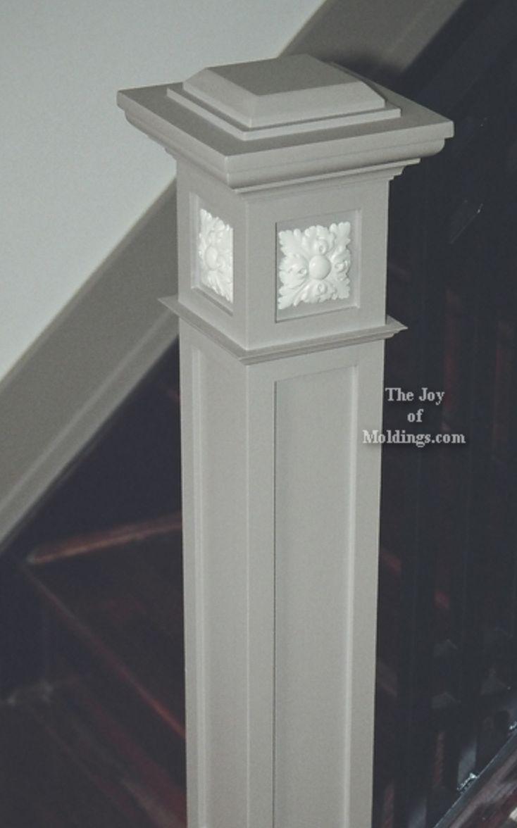 11 best ideas about home porch columns on pinterest for Colonial porch columns