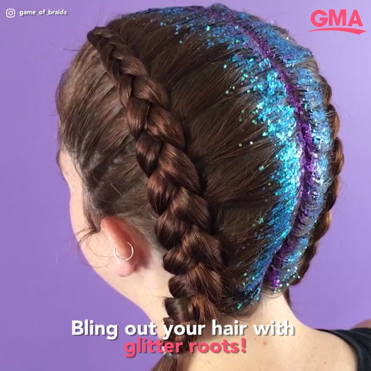 Glitter roots are back for festival season, and this sparkly trend is one of our favorite looks for spring and summer!