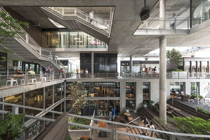 The Commons by Department of ARCHITECTURE | Mall design, Shopping mall interior, Architecture