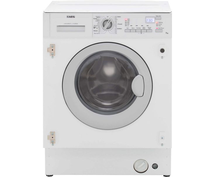 AEG Integrated Washer Dryer | L61470WDBI | ao.com