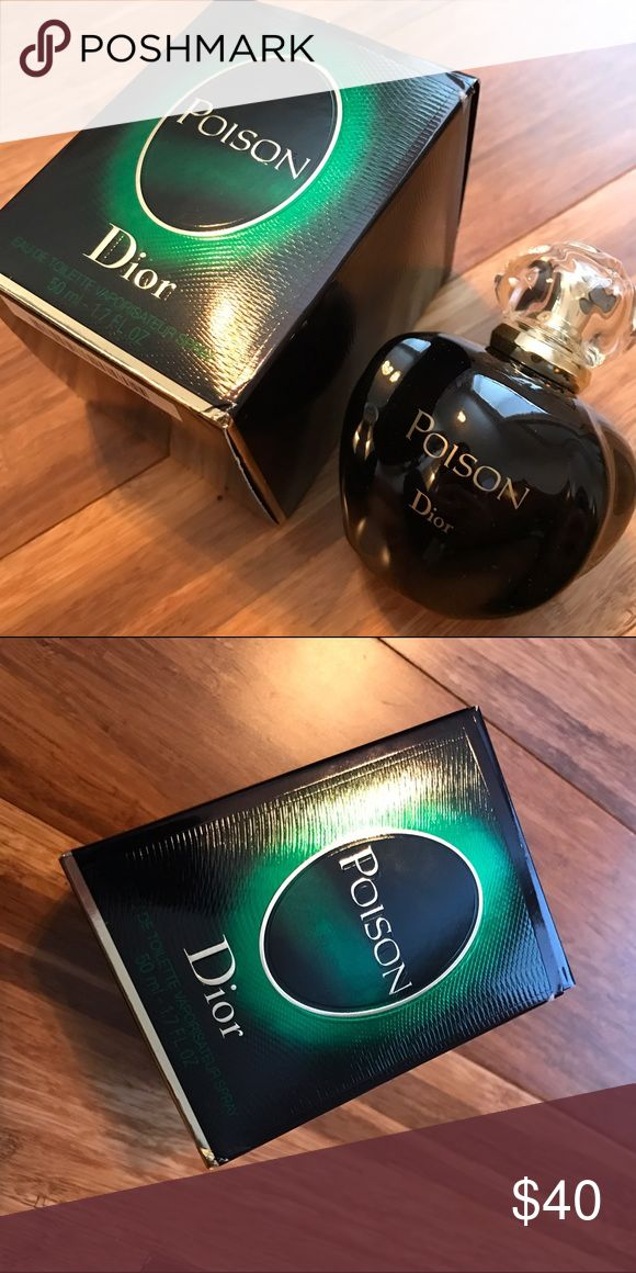 Dior Perfume Dior perfume in poison. Never used. Brand new in box. Dior Other