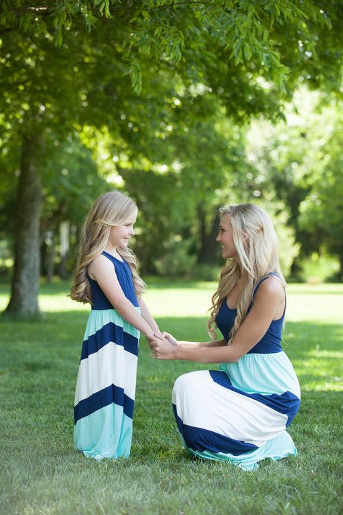 Mommy and Me dresses are great for Spring and Summer! This maxi is a bestseller.