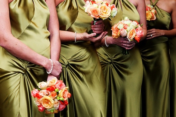 Olive green bridesmaid dresses wedding pinterest for Olive green wedding dresses